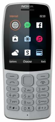 Мобільний телефон Nokia 210 DS TA-1139 Gray 1