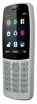 Мобільний телефон Nokia 210 DS TA-1139 Gray 2