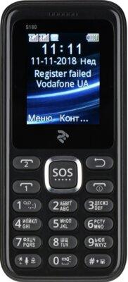 Мобільний телефон 2E S180 DS Black 1