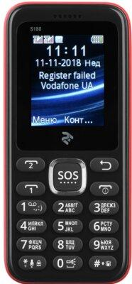 Мобильный телефон 2E S180 DS Red 1