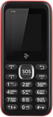 Мобильный телефон 2E S180 DS Red 3