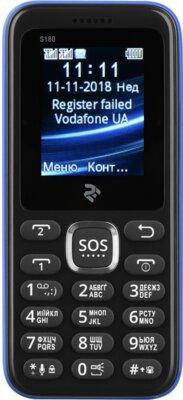Мобильный телефон 2E S180 DS Blue 1