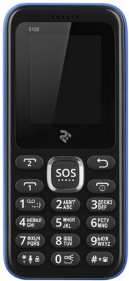 Мобильный телефон 2E S180 DS Blue 3