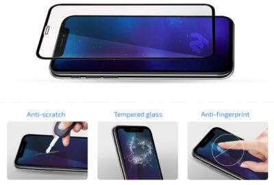 Захисне скло 2E для Galaxy A80(A805)/A90(A905) 3D FG Black 2