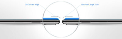 Захисне скло 2E для Galaxy A80(A805)/A90(A905) 3D FG Black 3