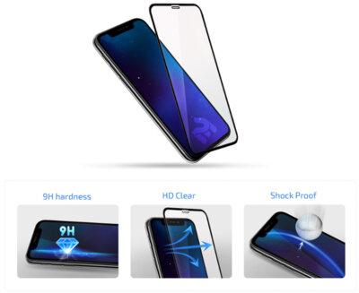 Защитное стекло 2E для Galaxy M20 (M205) 3D FG Black 4