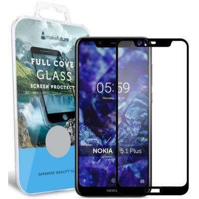 Защитное стекло MakeFuture для Nokia 5.1 Plus Full Cover Full Glue 1