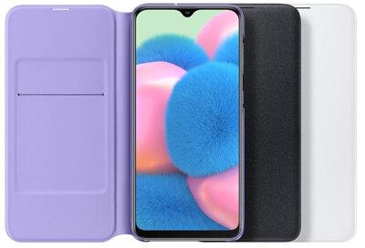 Чохол Samsung для Galaxy A30s (A307F) Wallet Cover Black 4