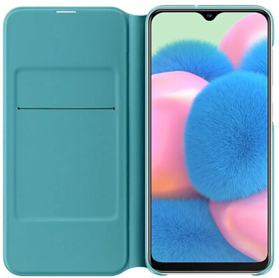 Чохол Samsung для Galaxy A30s (A307F) Wallet Cover White 2