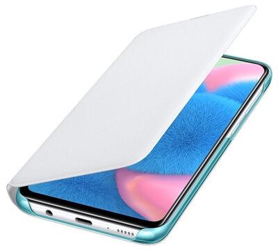 Чохол Samsung для Galaxy A30s (A307F) Wallet Cover White 4