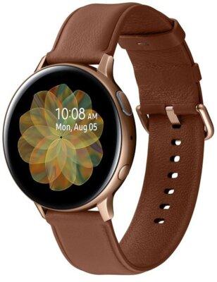 Смарт-годинник Samsung Galaxy Watch Active 2 44mm Stainless steel Gold 3