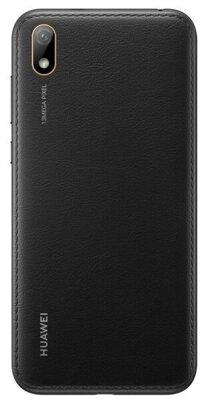 Смартфон Huawei Y5 2/16 2019 (AMN-LX9) Black Faux Leather 2