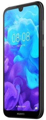 Смартфон Huawei Y5 2/16 2019 (AMN-LX9) Black Faux Leather 4