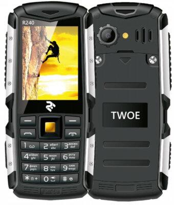 Мобильный телефон 2E R240 DS Black 3