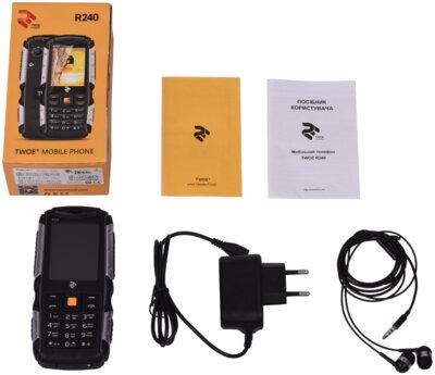 Мобильный телефон 2E R240 DS Black 12