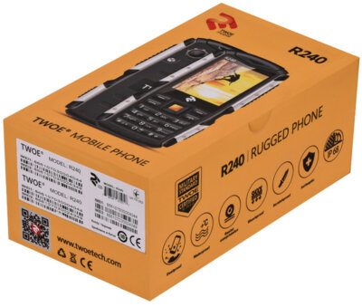 Мобильный телефон 2E R240 DS Black 13