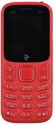 Мобильный телефон 2E E180 2019 DS Red 1