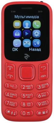 Мобильный телефон 2E E180 2019 DS Red 4