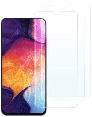 Комплект захисних стекол 2E для Galaxy A30(A305)/A50(A505) 2.5D Clear 1