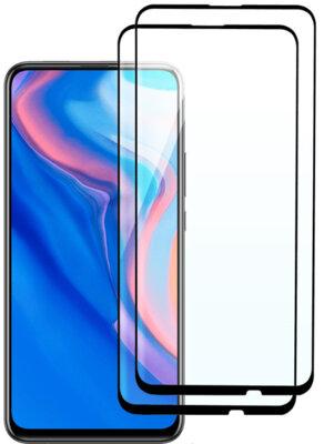 Комплект захисних стекол 2E для Huawei P Smart Z/Y9 Prime (2019) FCFG Black 1