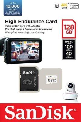 Карта памяти Sandisk microSDXC 128GB Class 10 UHS-I U3 V30 2