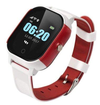 Смарт-часы GOGPS ME К23 White/Red 1