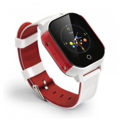 Смарт-часы GOGPS ME К23 White/Red 2