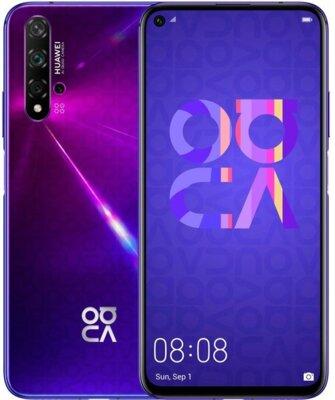 Смартфон Huawei Nova 5t (YAL-L21) 6/128 Midsummer Purple 3