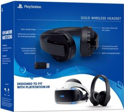 Ігрова гарнітура Sony PlayStation WL Gold 12