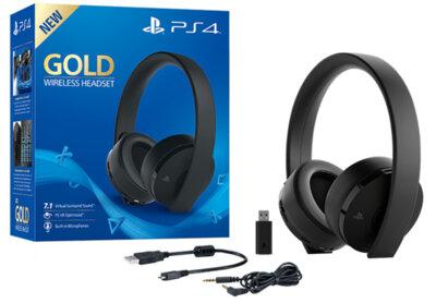 Ігрова гарнітура Sony PlayStation WL Gold 10