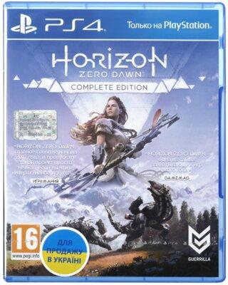 Игра Horizon Zero Dawn. Complete Edition (PS4, Русская версия) 1