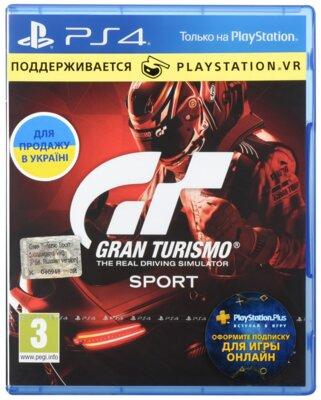 Игра Gran Turismo Sport, поддержка VR (PS4, Русская версия) 1