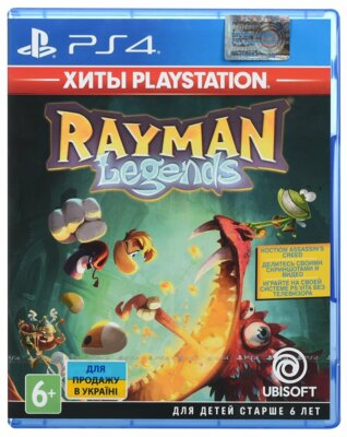 Игра Rayman Legends (PS4, Русская версия) 1