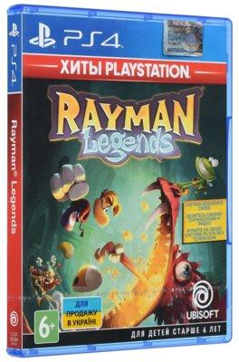 Игра Rayman Legends (PS4, Русская версия) 2