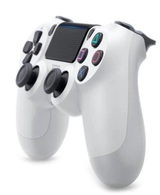 Бездротовий геймпад Sony Dualshock 4 V2 White для PS4 2