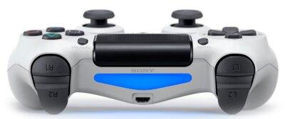 Бездротовий геймпад Sony Dualshock 4 V2 White для PS4 4