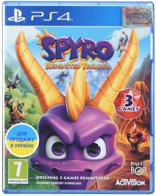 Гра Spyro Reignited Trilogy (PS4,Англійська мова) 1