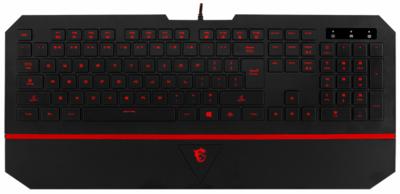 Ігрова клавіатура MSI Interceptor DS4100 RU (S11-04RU211-EB5) 1