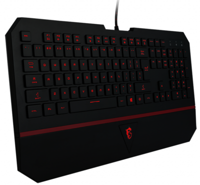 Ігрова клавіатура MSI Interceptor DS4100 RU (S11-04RU211-EB5) 3