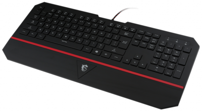 Ігрова клавіатура MSI Interceptor DS4100 RU (S11-04RU211-EB5) 4