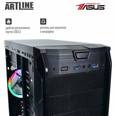 Системный блок ARTLINE Gaming X35v17 (X35 v17) 9