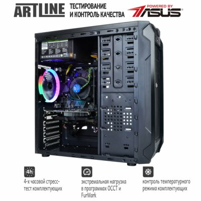 Системный блок ARTLINE Gaming X35 (X35v14) 6