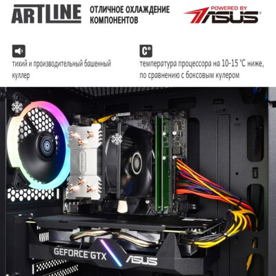 Системний блок ARTLINE Gaming X39 v36 (X39v36) 3
