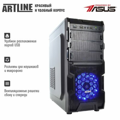Системний блок ARTLINE Gaming X44 v17 (X44v17) 3