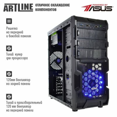 Системний блок ARTLINE Gaming X44 v17 (X44v17) 5