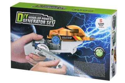 Робот-конструктор Same Toy Авто на динамо-машине (DIY006UT) 6
