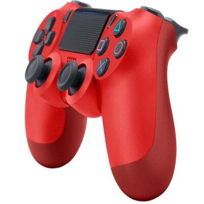 Бездротовий геймпад SONY Dualshock 4 V2 Magma Red для PS4 (9894353) 2