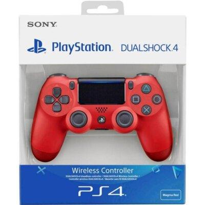 Бездротовий геймпад SONY Dualshock 4 V2 Magma Red для PS4 (9894353) 5
