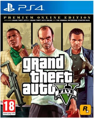 Гра Grand Theft Auto V Premium Online Edition (PS4, Російські субтитри) 1