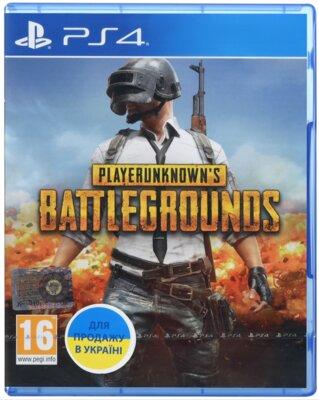 Игра Playerunknown's Battlegrounds (PS4, Русская версия) 1